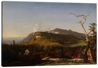 Catskill Mountain House, 1855  Canvas Art Print