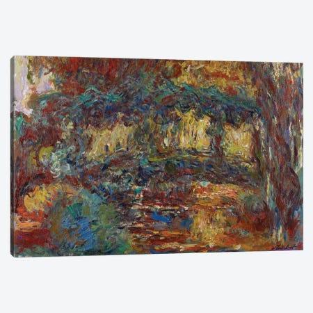 The Japanese Bridge, c.1923-25  Canvas Print #BMN3966} by Claude Monet Canvas Art Print