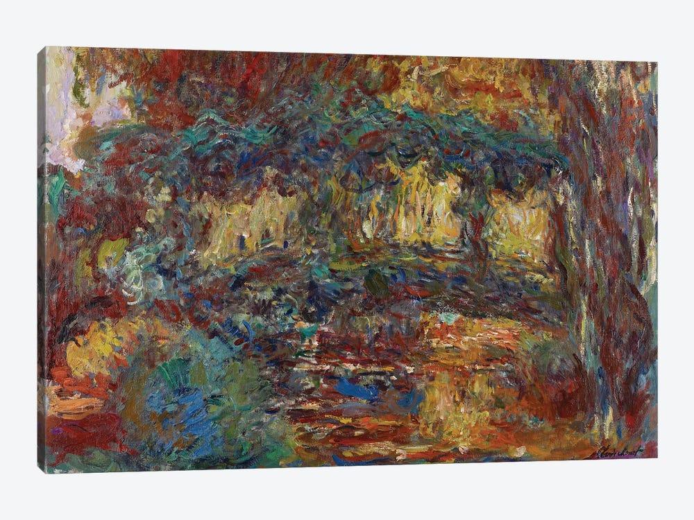 The Japanese Bridge, c.1923-25  by Claude Monet 1-piece Canvas Print