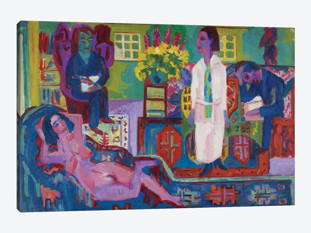Modern Bohemia, 1924  by Ernst Ludwig Kirchner 1-piece Art Print