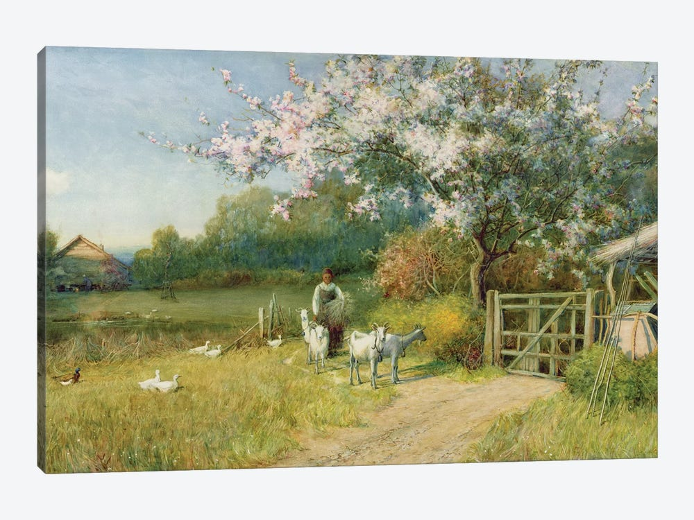 Springtime by Sir Alfred East 1-piece Canvas Artwork