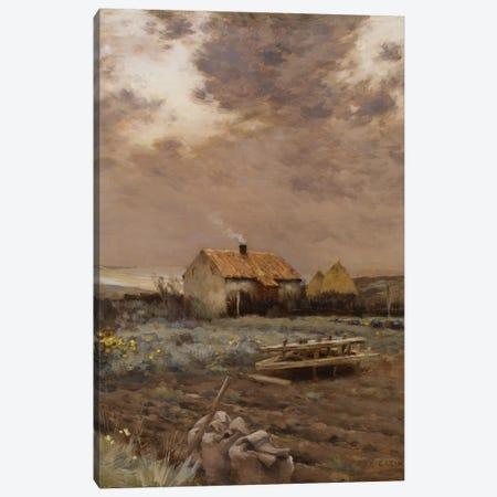 Landscape, c.1880  Canvas Print #BMN3970} by Jean-Charles Cazin Art Print