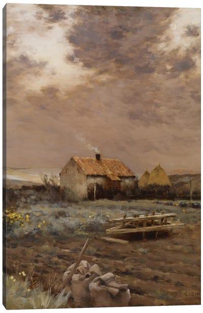 Landscape, c.1880  Canvas Art Print