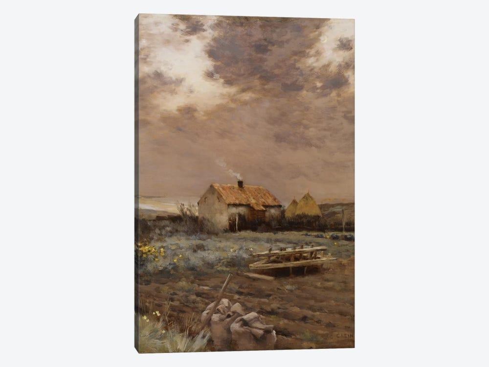 Landscape, c.1880  by Jean-Charles Cazin 1-piece Canvas Artwork