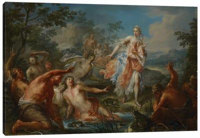 Latona Turning the Lycian Peasants into Frogs, c.1730  Canvas Art Print
