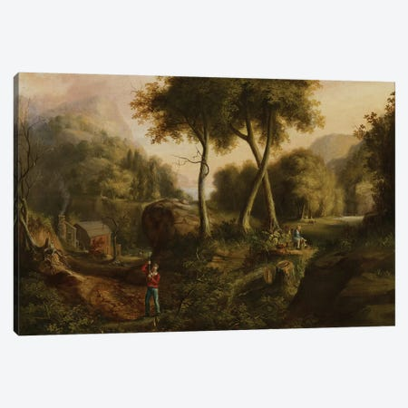 Landscape, 1825  Canvas Print #BMN3975} by Thomas Cole Canvas Art