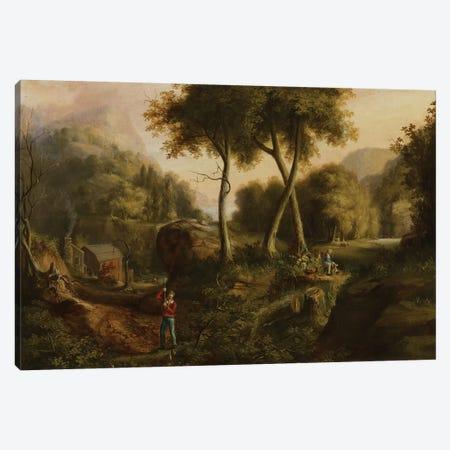 Landscape, 1825  Canvas Print #BMN3975} by Thomas Cole Canvas Art
