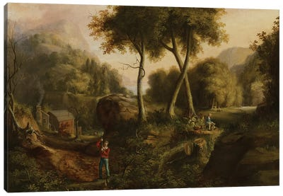 Landscape, 1825  Canvas Art Print