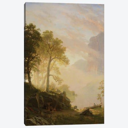 The Merced River in Yosemite, 1868  Canvas Print #BMN3977} by Albert Bierstadt Canvas Art