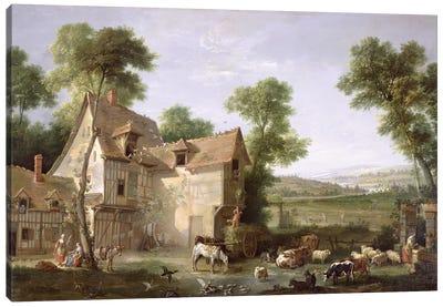 The Farm, 1750  Canvas Art Print