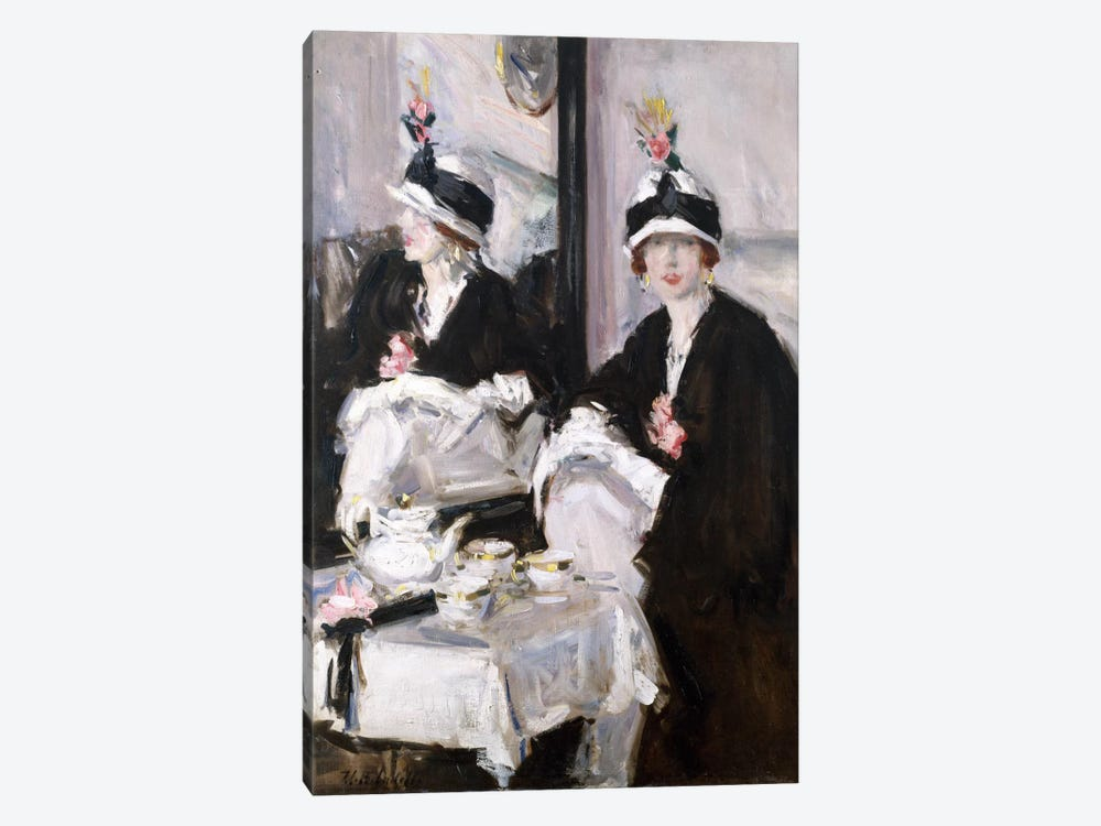 Reflections (oil on canvas) by Francis Campbell Boileau Cadell 1-piece Canvas Wall Art