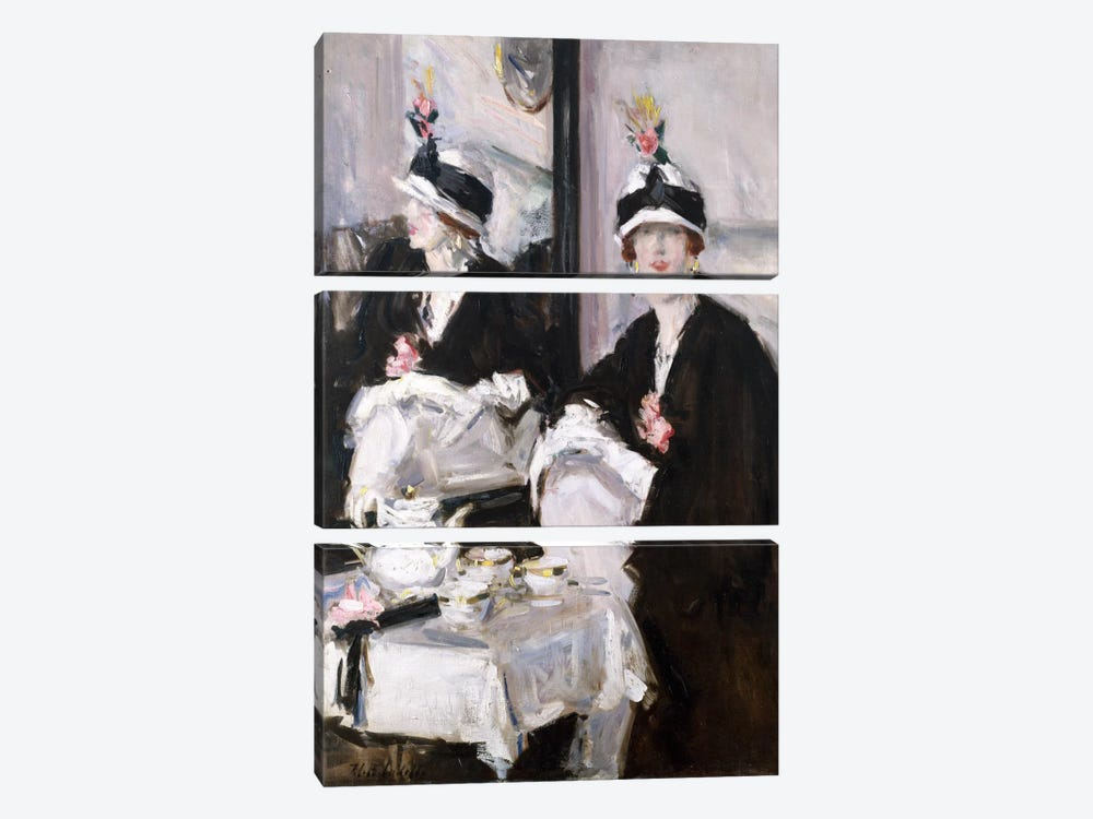 Reflections (oil on canvas) by Francis Campbell Boileau Cadell 3-piece Canvas Wall Art