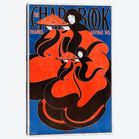 The Chap Book: Thanksgiving no.', 1895. Will H Bradley  Canvas Print #BMN4003} by Unknown Artist Canvas Art