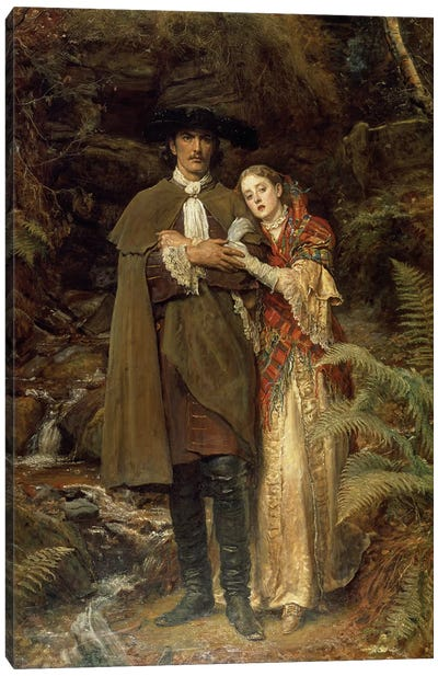 The Bride of Lammermoor, 1878  Canvas Art Print