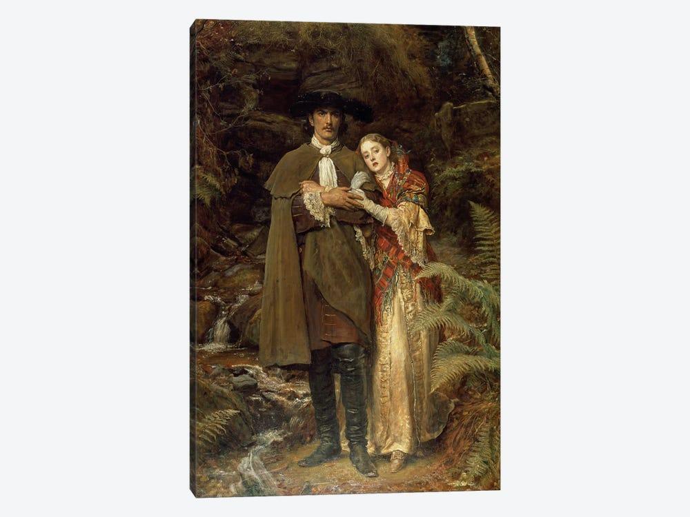 The Bride of Lammermoor, 1878  by Sir John Everett Millais 1-piece Canvas Art Print