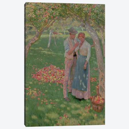 The Orchard Canvas Print #BMN407} by Nelly Erichsen Canvas Art Print