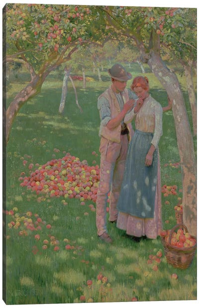 The Orchard Canvas Art Print