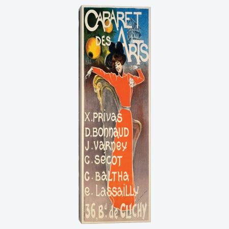 Poster for 'Cabaret Des Arts', c.1900  Canvas Print #BMN4084} by Charles Lucas Canvas Art Print