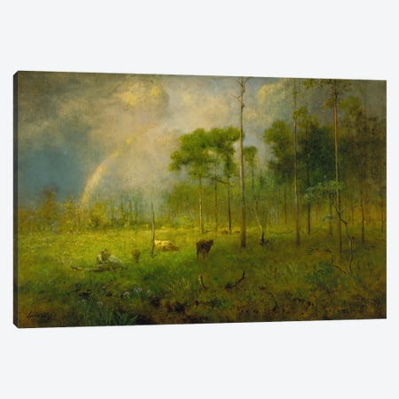 Rainbow in Georgia, between 1886 and 1892  Canvas Print #BMN4091} by George Inness Jr. Canvas Print