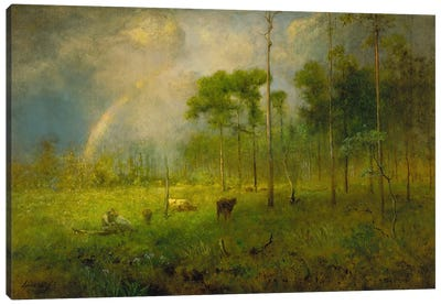 Rainbow in Georgia, between 1886 and 1892 Canvas Art Print