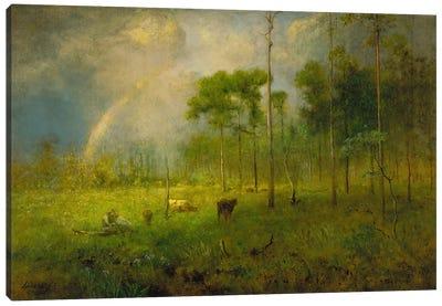 Rainbow in Georgia, between 1886 and 1892  Canvas Art Print