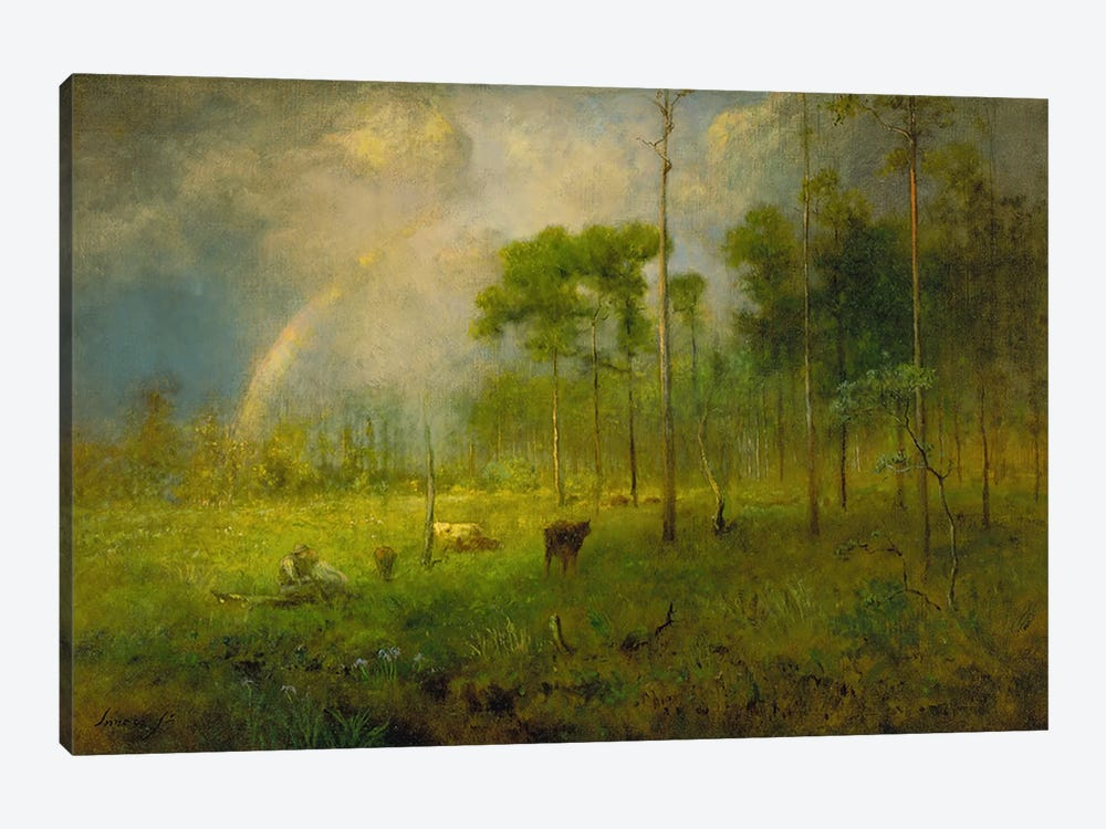 Rainbow in Georgia, between 1886 and 1892  by George Inness Jr. 1-piece Art Print