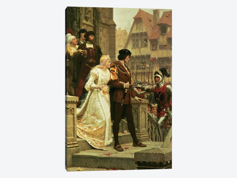 Call to Arms, 1888 by Edmund Blair Leighton 1-piece Art Print