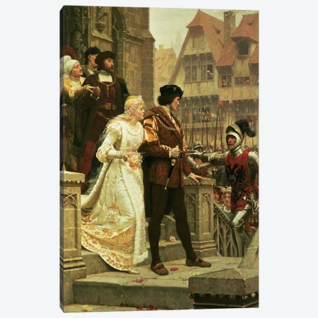 Call to Arms, 1888 Canvas Print #BMN410} by Edmund Blair Leighton Canvas Art Print