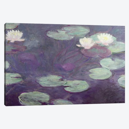 Waterlilies  Canvas Print #BMN4130} by Claude Monet Canvas Art