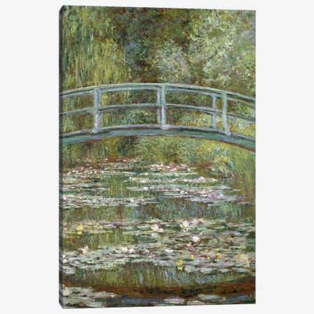 The Water-Lily Pond, 1899  Canvas Print #BMN4133} by Claude Monet Canvas Artwork