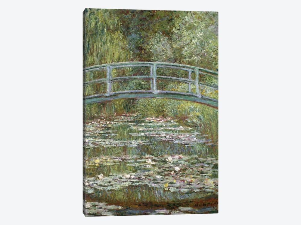 The Water-Lily Pond, 1899  by Claude Monet 1-piece Canvas Artwork