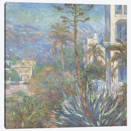 Villas at Bordighera, 1884  Canvas Print #BMN4134} by Claude Monet Canvas Print