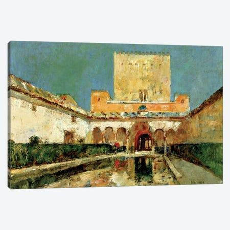 The Alhambra, Grenada, Spain, c.1883  Canvas Print #BMN4140} by Childe Hassam Canvas Art Print