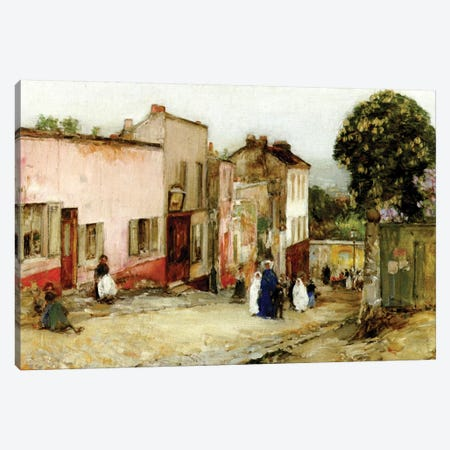 Confirmation Day, 1889  Canvas Print #BMN4149} by Childe Hassam Art Print