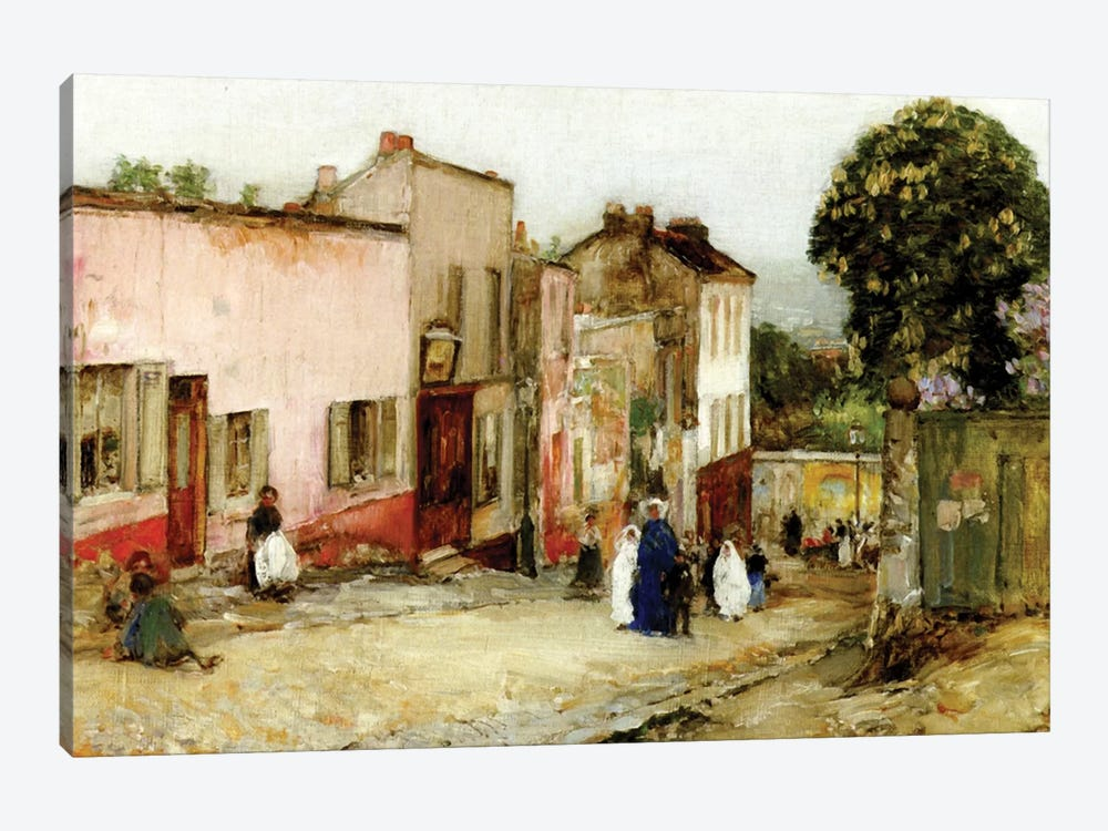 Confirmation Day, 1889  by Childe Hassam 1-piece Canvas Art Print