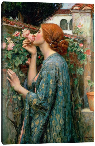 The Soul Of The Rose, 1908  Canvas Art Print