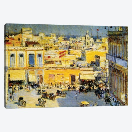 Havana, Cuba, 1895  Canvas Print #BMN4156} by Childe Hassam Art Print