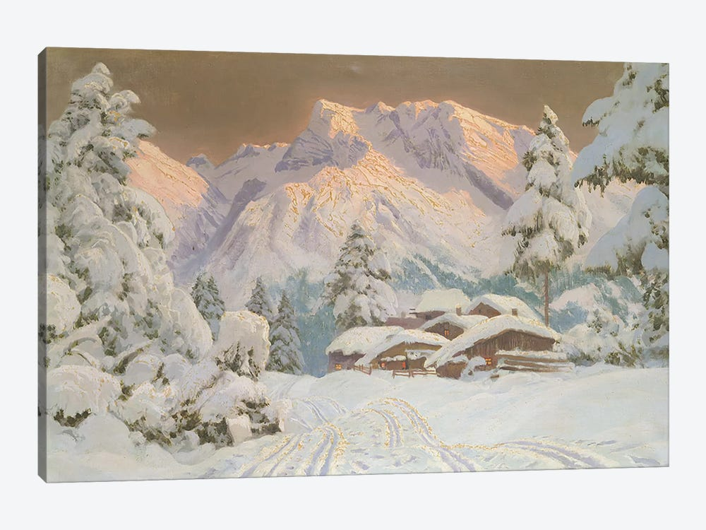Hocheisgruppe, Austria by Alwin Arnegger 1-piece Canvas Artwork