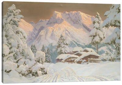 Hocheisgruppe, Austria  Canvas Art Print