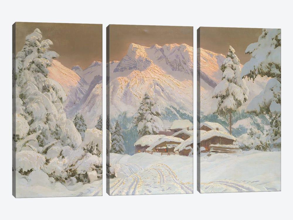 Hocheisgruppe, Austria  by Alwin Arnegger 3-piece Canvas Artwork