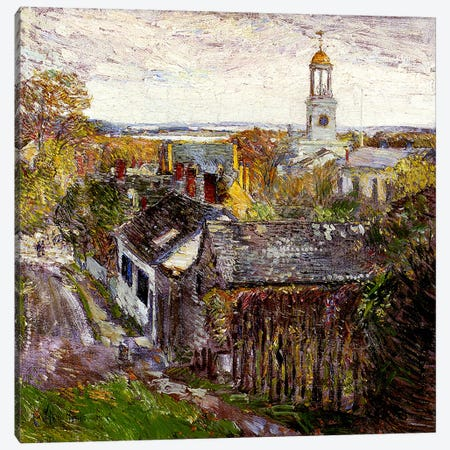 Quincy, Massachusetts, 1892  Canvas Print #BMN4167} by Childe Hassam Canvas Artwork
