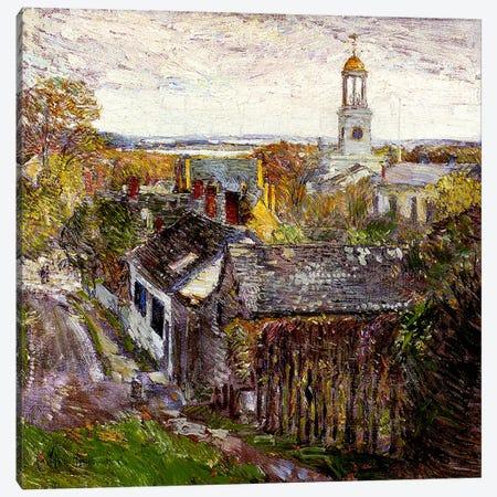 Quincy, Massachusetts, 1892  Canvas Print #BMN4167} by Childe Hassam Canvas Artwork