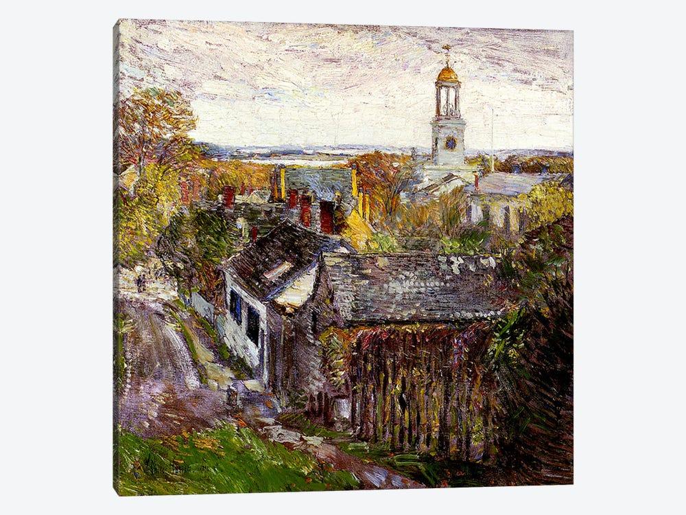 Quincy, Massachusetts, 1892  by Childe Hassam 1-piece Canvas Art Print