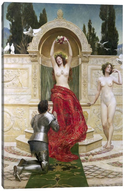 In the Venusburg  Canvas Art Print