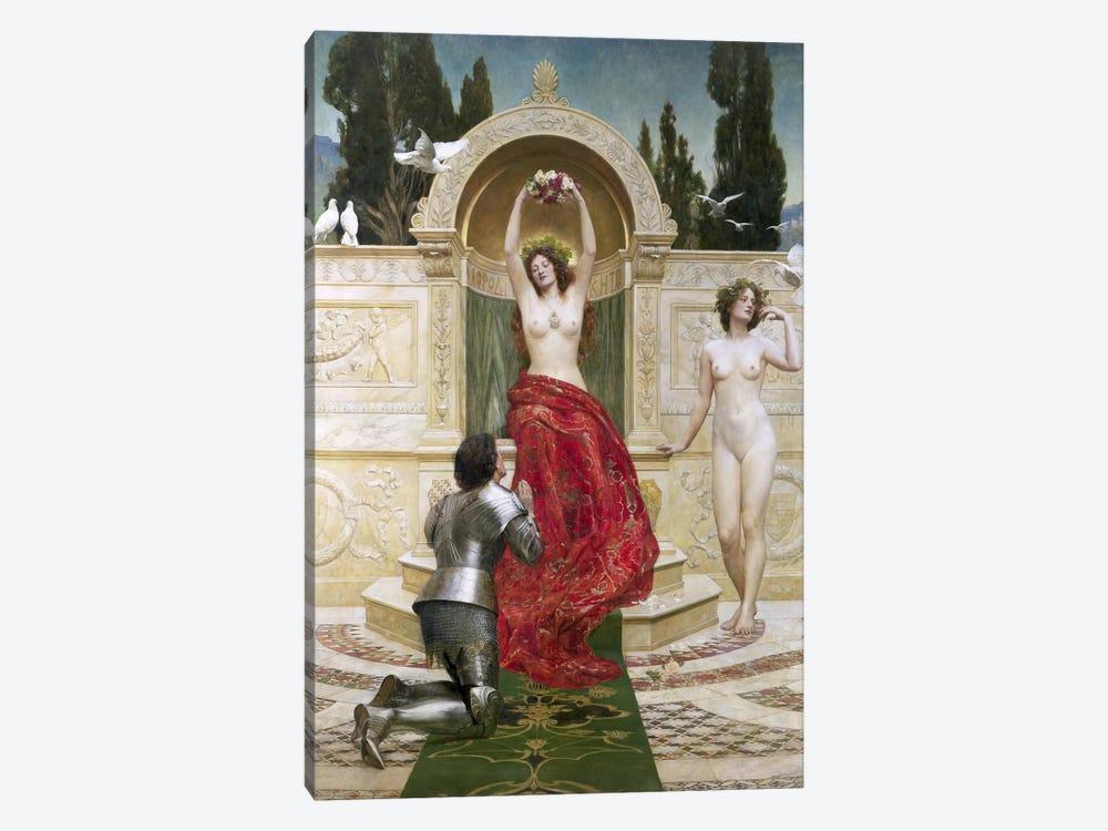 In the Venusburg  by John Collier 1-piece Canvas Art