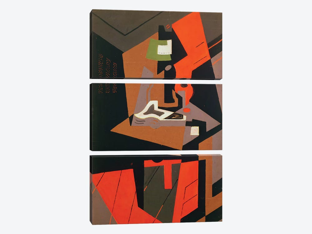 Composition  by Juan Gris 3-piece Canvas Art