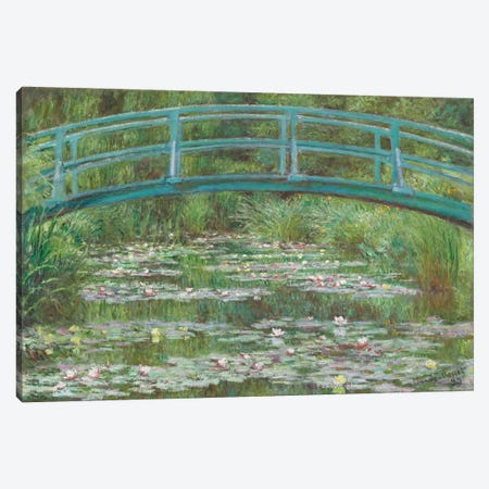The Japanese Footbridge, 1899  Canvas Print #BMN4249} by Claude Monet Canvas Art