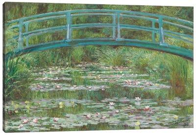 The Japanese Footbridge, 1899  Canvas Art Print