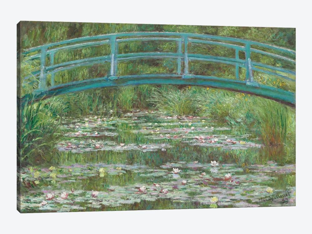 The Japanese Footbridge, 1899  by Claude Monet 1-piece Canvas Art Print