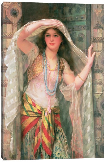 Safie, 1900  Canvas Art Print